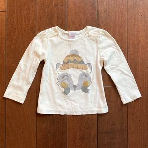 Gymboree 🦊 Winter Fox 🦊 T-Shirt (3T)